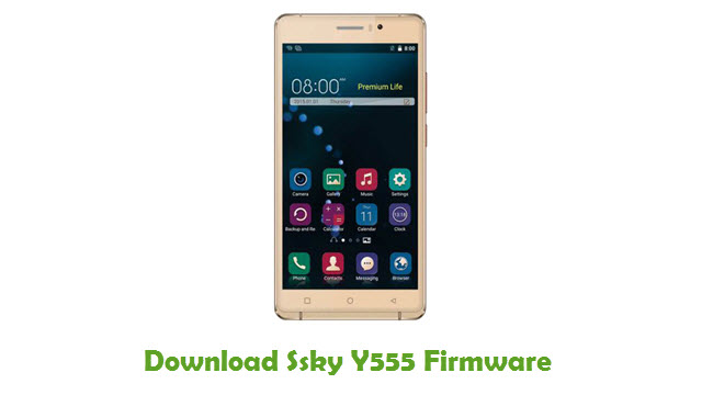 Download Ssky Y555 Firmware