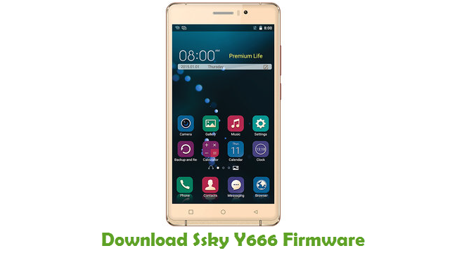 Download Ssky Y666 Stock ROM