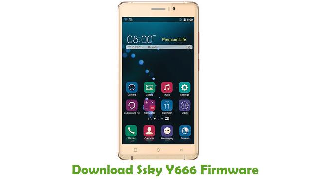 Download Ssky Y666 Firmware