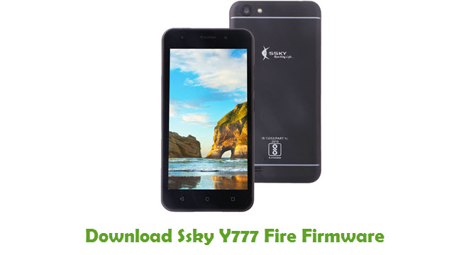Download Ssky Y777 Fire Firmware
