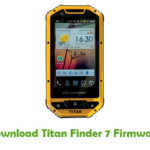 Titan Finder 7 Firmware