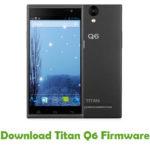 Titan Q6 Firmware