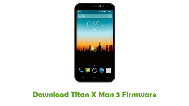 Download Titan X Man 3 Firmware