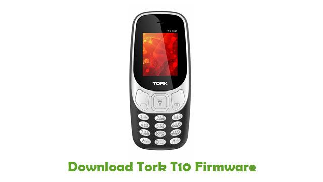 Tork T10 Stock ROM