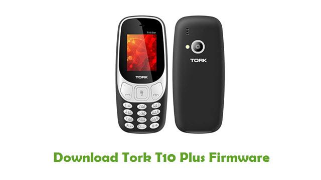 Tork T10 Plus Stock ROM