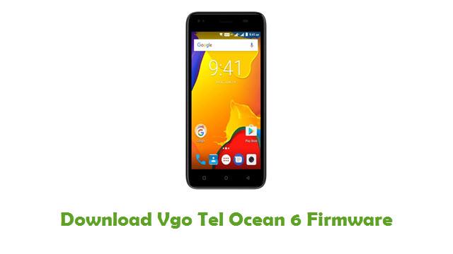 Vgo Tel Ocean 6 Stock ROM