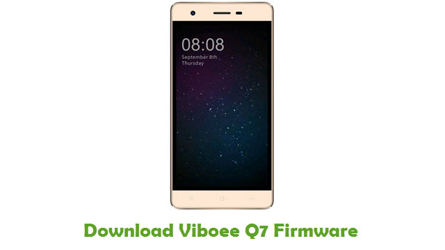 Download Viboee Q7 Firmware Flash File - FirmwaresPk