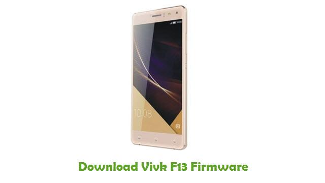Vivk F13 Stock ROM