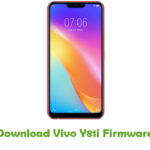 Vivo Y81i Firmware