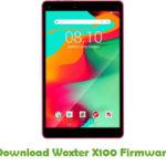 Woxter X100 Firmware