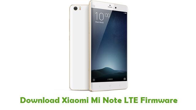 Xiaomi Mi Note LTE Stock ROM