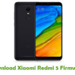 Xiaomi Redmi 5 Firmware