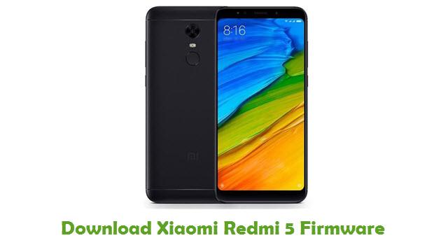 Xiaomi Redmi 5 Stock ROM