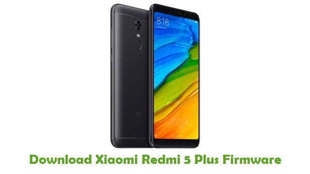 Download Xiaomi Redmi 5 Plus Firmware