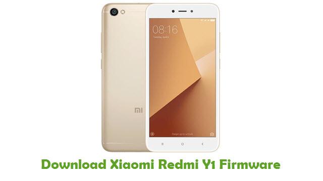 Xiaomi Redmi Y1 Stock ROM
