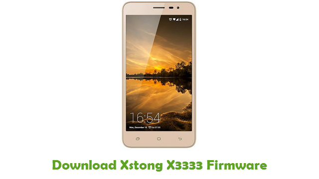 Download Xstong X3333 Firmware