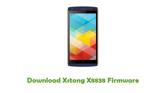 Download Xstong X8838 Firmware