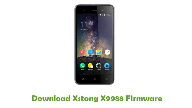 Download Xstong X9988 Firmware