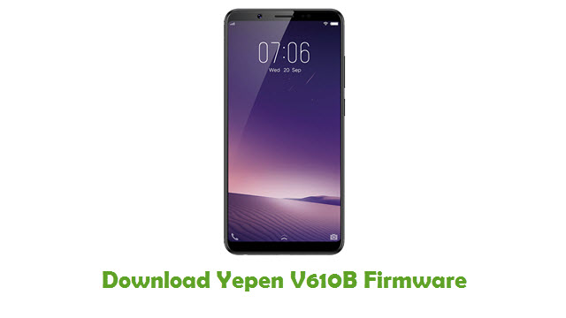 Download Yepen V610B Firmware