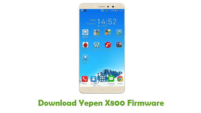 Download Yepen X800 Stock ROM