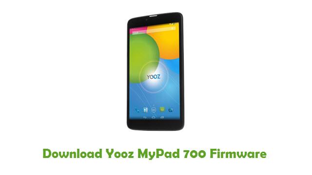 Download Yooz MyPad 700 Firmware