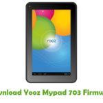 Yooz Mypad 703 Firmware