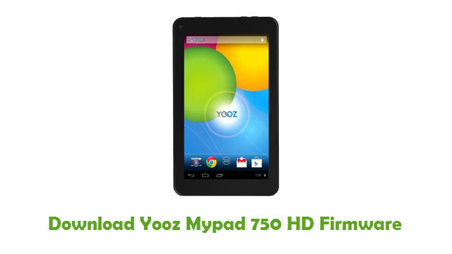 Download Yooz Mypad 750 HD Firmware