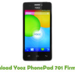 Yooz PhonePad 701 Firmware