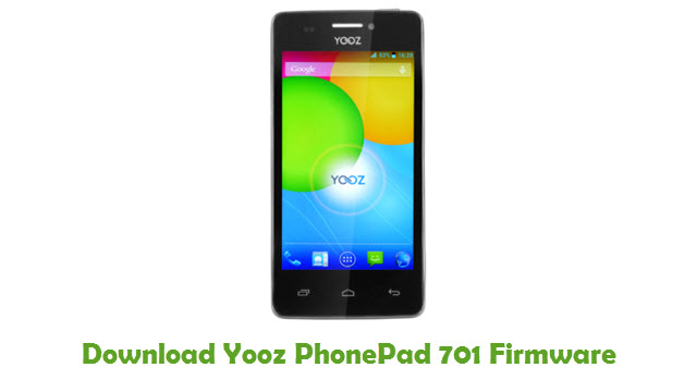 Download Yooz PhonePad 701 Firmware