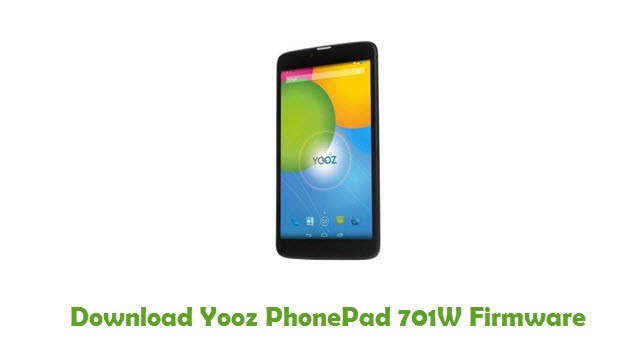 Download Yooz PhonePad 701W Firmware