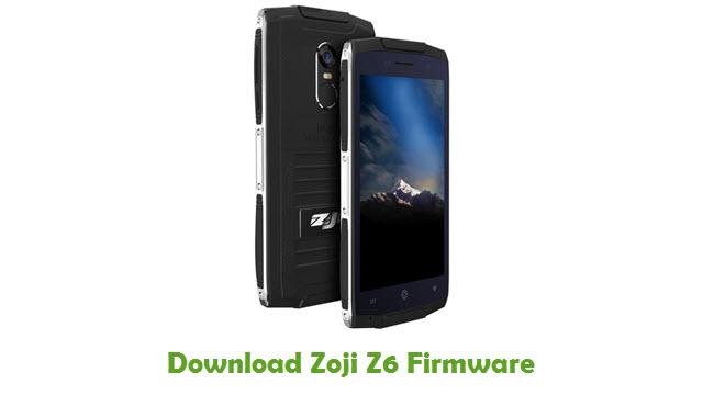 Download Zoji Z6 Firmware