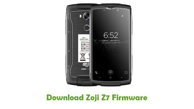 Download Zoji Z7 Stock ROM