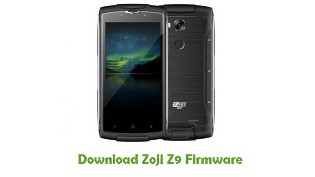 Zoji Z9 Stock ROM