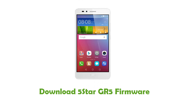 Download 5Star GR5 Firmware