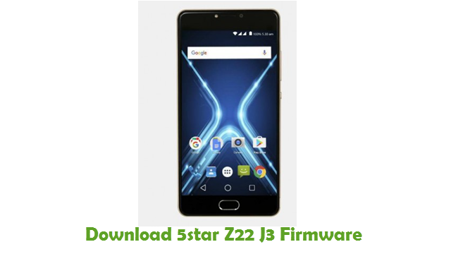 Download 5star Z22 J3 Firmware
