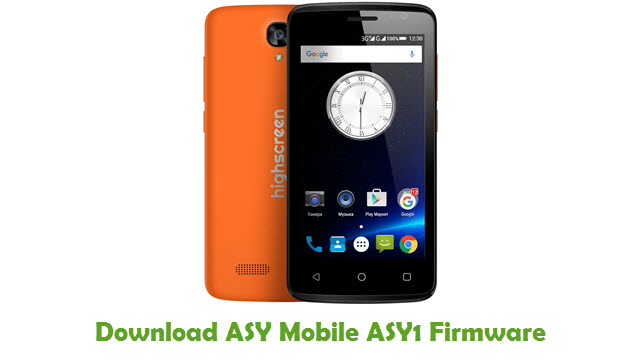 Download ASY Mobile ASY1 Firmware