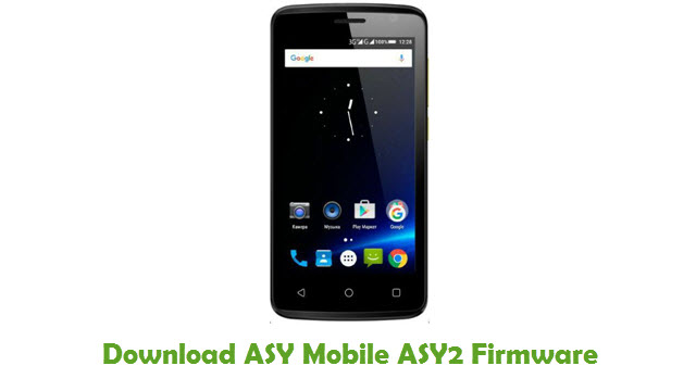 Download ASY Mobile ASY2 Firmware