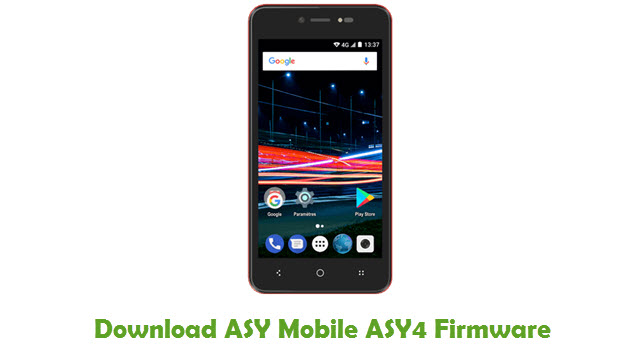 Download ASY Mobile ASY4 Firmware