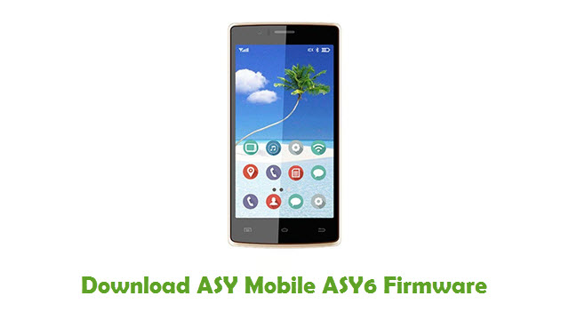 Download ASY Mobile ASY6 Firmware