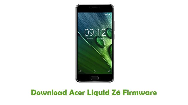 Acer Liquid Z6 Stock ROM