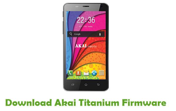 Download Akai Titanium Stock ROM
