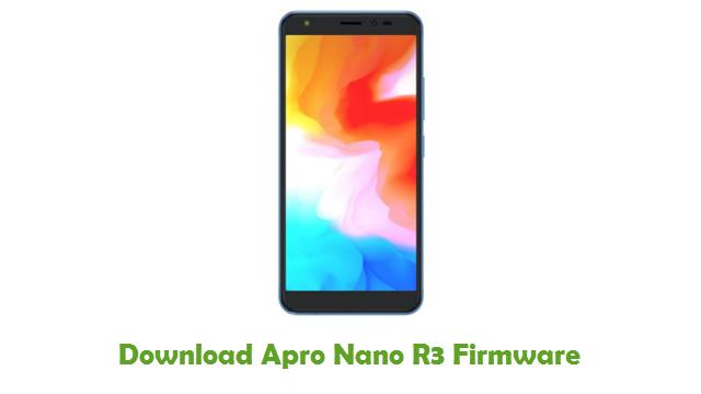 Apro Nano R3 Stock ROM