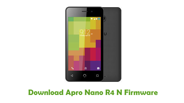 Download Apro Nano R4 N Firmware