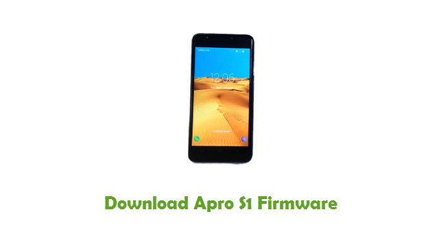 Download Apro S1 Firmware