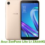 Asus ZenFone Lite L1 ZA551KL Firmware