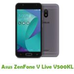Asus ZenFone V Live V500KL Firmware
