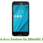Asus Zenfone Go ZB500KL Firmware