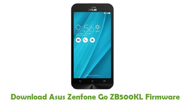 Download Asus Zenfone Go ZB500KL Firmware
