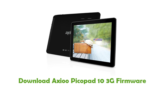 Download Axioo Picopad 10 3G Firmware - Stock ROM Files