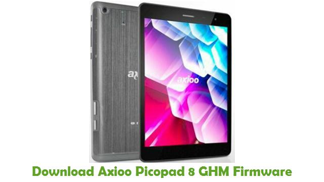 Axioo Picopad 8 GHM Stock ROM